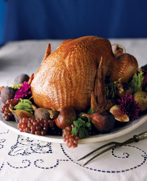 Photo of Maple-Glazed Thanksgiving Turkey