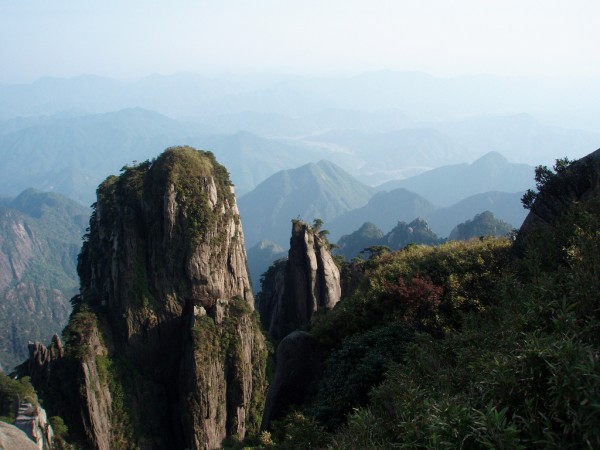 Path on Sanqing Mount