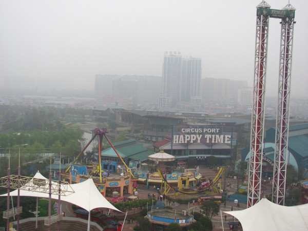 Happy Valley in Chengdu Roller Coaster Philosophy/flickr
