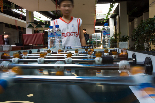 Foosball in china